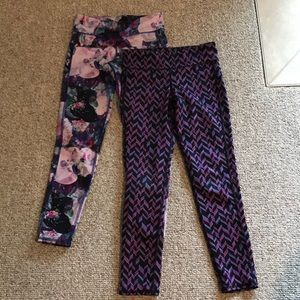 Bundle of Two Girl's Old Navy Leggings Size M (8)